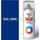 Sprej signálne modrý lesklý 400ml odtieň RAL 5005 farba signálne modrá lesklá