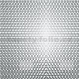 Samolepiaca tapeta transparentná kruhy - 90 cm x 15 m