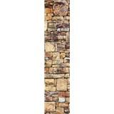 Samolepiace dekoračné pásy kamenná stena rozmer 60 cm x 260 cm