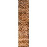 Samolepiace dekoračné pásy staré tehly rozmer 60 cm x 260 cm