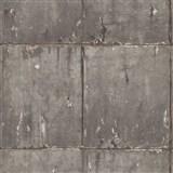 Vliesové tapety IMPOL Instawalls 2 betónové panely sivo-zlaté