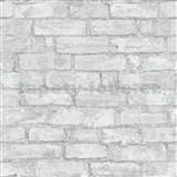 Vliesové tapety na stenu IMPOL tehla sivá