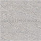 Vliesové tapety na stenu IMPOL Factory 4 mramor sivý so striebornými žilami