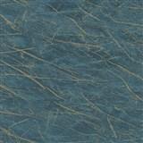 Vliesové tapety na stenu IMPOL Factory 4 mramor modrý so zlatým žíháním