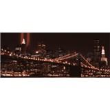 Vliesové fototapety Brooklyn Bridge rozmer 250 cm x 104 cm