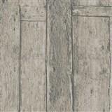 Vliesové tapety na stenu Imagine drevený obklad hnedý