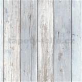 Vliesové tapety na stenu IMPOL Imitations 2 dosky svetlo modré