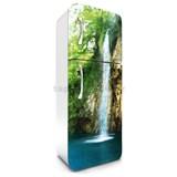Samolepiace tapety na chladničku vodopády rozmer 180 cm x 65 cm