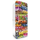 Samolepiace tapety na chladničku graffiti rozmer 180 cm x 65 cm