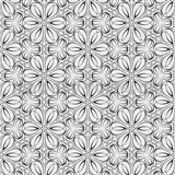 Vliesové tapety na stenu Mixing kvetinky vytláčané čierne