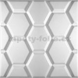 3D panel XPS HEXAGON rozmer 50 x 50 cm