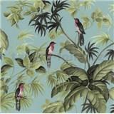 Vliesové tapety na stenu Home Sweet Home vtáky