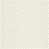 Vliesové tapety na stenu Bali moderný plastický vzor biely