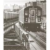 Luxusné vliesové fototapety New York - farebné, rozmer 325,5 x 270cm