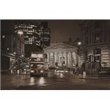 Luxusné vliesové fototapety Londyn - sépia, rozmer 418,5 x 270cm