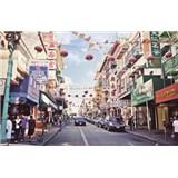 Luxusné vliesové fototapety San Francisco - farebné, rozmer 418,5 x 270cm