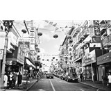 Luxusné vliesové fototapety San Francisco - čiernobiele, rozmer 418,5 x 270cm