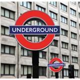 Luxusné vliesové fototapety Londyn - farebné, rozmer 279 x 270cm
