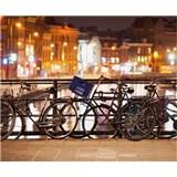 Luxusné vliesové fototapety Amsterdam - farebné, rozmer 325,5 x 270cm