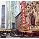 Luxusné vliesové fototapety Chicago - farebné, rozmer 279 cm x 270 cm