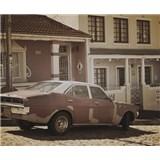 Luxusné vliesové fototapety Cape Town - sépia, rozmer 325,5 x 270cm