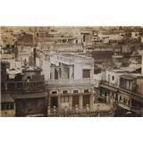 Luxusné vliesové fototapety Delhi - sépia, rozmer 418,5 x 270cm