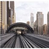 Luxusné vliesové fototapety Dubai - farebné, rozmer 279 x 270cm