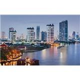 Luxusné vliesové fototapety Bangkok - farebné, rozmer 418,5 x 270cm