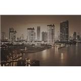 Luxusné vliesové fototapety Bangkok - sépia, rozmer 418,5 x 270cm