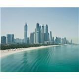 Luxusné vliesové fototapety Dubai - farebné, rozmer 325,5 x 270cm