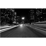 Luxusné vliesové fototapety Sao Paulo - čiernobiele, rozmer 418,5 x 270cm