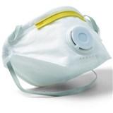 Jemná prachová maska, s výdychovým ventilom, skladacie, FFP1