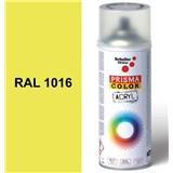 Sprej sírovo žltý lesklý 400ml odtieň RAL 1016 farba sírovo žltá lesklá