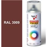 Sprej oxid.červený lesklý 400ml odtieň RAL 3009 farba oxid.červená lesklá