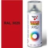 Sprej červený 400ml, odtieň RAL 3020 farba dopravná červená
