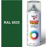 Sprej perleťovo zelený lesklý 400ml odtieň RAL 6035 farba perleťovo zelená lesklá