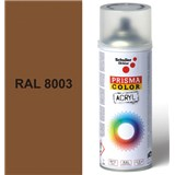 Sprej hnedý lesklý 400ml, odtieň RAL 8003 farba hnedá hlina lesklá
