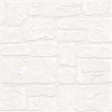Vinylové tapety na stenu Adelaide kamene biele