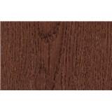 Samolepiace tapety načervenalé dubové drevo - 45 cm x 15 m