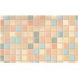 Samolepiace tapety kachličky farebná Pienza , metráž, šírka 67,5cm, návin 15m,