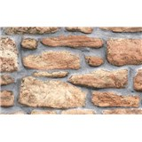Samolepiace tapety kamenná stena 45 cm x 15 m