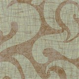 Tapety na stenu La Veneziana 2 benátsky vzor na zlatom podklade s metalickým efektom