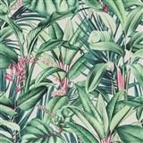 Vliesové tapety na stenu IMPOL Paradisio 2 fauna na krémovom podklade