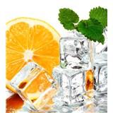 Vliesové fototapety citrón a ľad rozmer 225 cm x 250 cm
