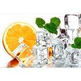 Vliesové fototapety citrón a ľad rozmer 375 cm x 250 cm