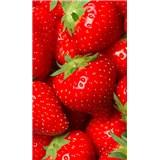 Vliesové fototapety jahody rozmer 150 cm x 250 cm