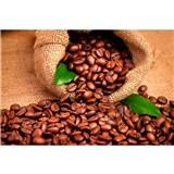 Vliesové fototapety kávové zrnká rozmer 375 cm x 250 cm