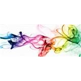 Vliesové fototapety dym farebný rozmer 375 cm x 150 cm