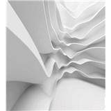 Vliesové fototapety futuristické vlny rozmer 225 cm x 250 cm