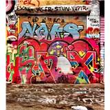 Vliesové fototapety graffiti ulica rozmer 225 cm x 250 cm